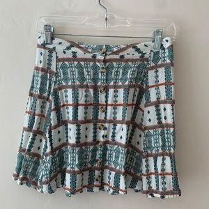 LA Hearts Mini Skirt